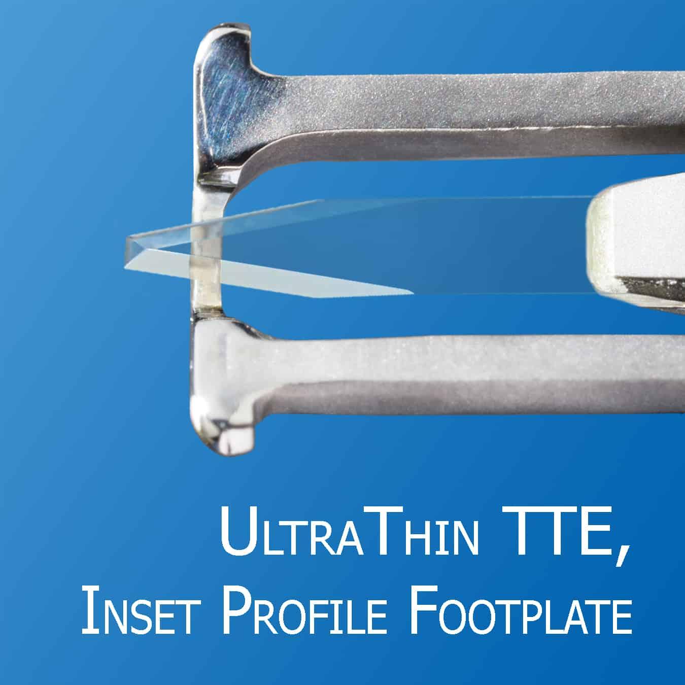 UltraThin Truncated Triple Edge, Elite II Micrometer