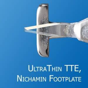 UltraThin Truncated Triple Edge, Nichamin Footplate
