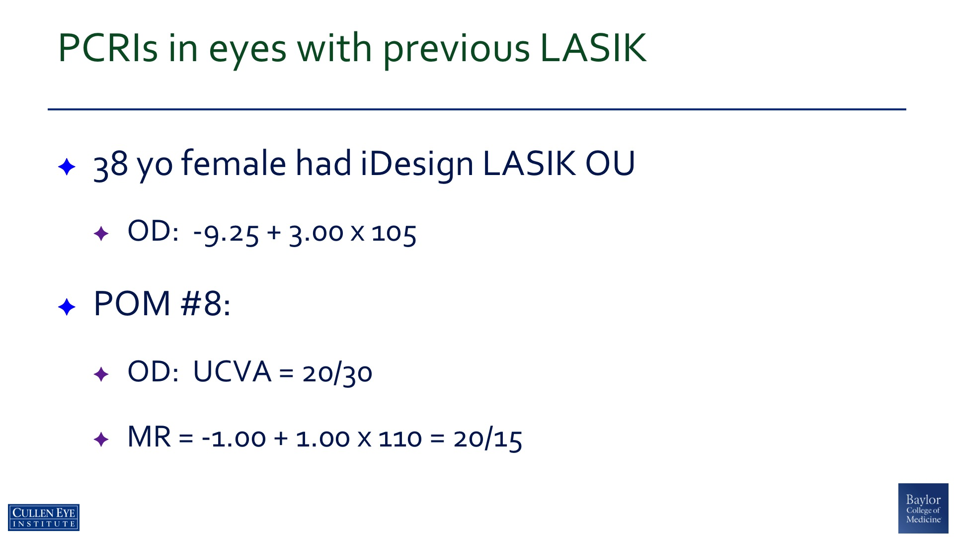 Reducing Post Lasik Astigmatism – Professor Douglas Donald Koch, MD